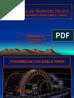 Molino Minero Con Piñon Corona