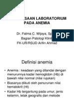 Pemeriksaan Laboratorium Pada Anemia