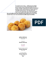 Resep Muffin Keju Bredtalk Enak Praktis – Muffin Keju Breadtalk Adalah Jenis Kue Khas Asal Eropa Yang Cukup Banyak Digemari Oleh Berbagai Kalangan Disana