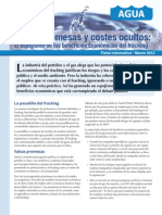 2013 Fracking Falsas Promesas Costes Ocultos Español