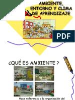 Ambientes de Aprendizaje 1