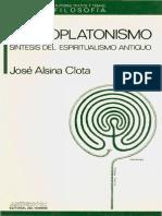 Alsina Clota El Neoplatonismo
