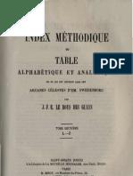 Em Swedenborg INDEX Des Arcanes Celestes 3sur4 L Q