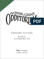 Alistair Grim's Odditorium - Excerpt