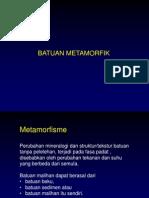 Kursus petrologi metamorfik