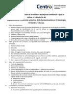 b RequisitosManifiestodeImpacto Proteamb 13