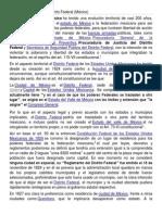Evolución Territorial Del Distrito Federal
