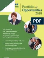 SCORE National Partnering Opportunities