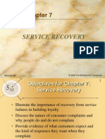 Chapter 7 of Service Recovery