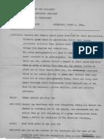 Transcript of 1954 Claude Dettloff Interview