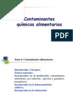 Tema 6 Contaminantes Alimentarios