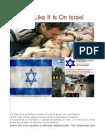 Telling It Like It is on Israel