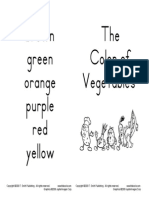 The Color of Vegetables