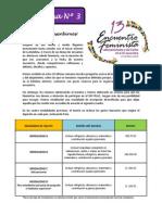 Boletina 3 - Inscripciones 13 EFLAC