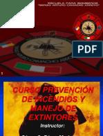 Curso Prevención de Incendio