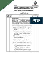 Programa Examen Especial a La Municipalidad Provincial de Huanta Programa