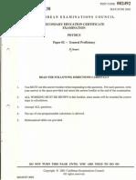 Physics 2002 P2