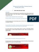 Instrucciones Instalación Antivirus 2012