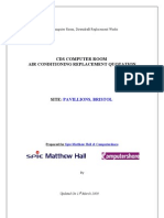 E1996 - Pavillions CDS Comms Rm - AC Install