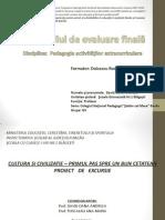 Prezentare Evaluare Finala Bacovia Oana-Andreea David