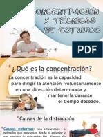 Técnicas de Estudios y Concentración