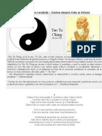 Tao Te Ching - Cartea Despre Cale Și Virtute