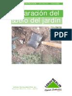 Preparacion Del Suelo Del Jardin