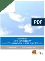 Kutxabank. UNA OPERACION MAL PLANIFICADA Y MAL EJECUTADA