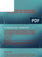 Planeacion de Un Sistema Multimodal de Transporte Cfhafa