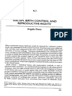 Angela Davis Racism, Birth Control and Reproductive Rights