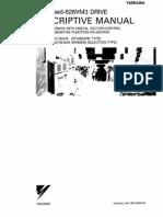 Yaskawa 626vm3 Manual