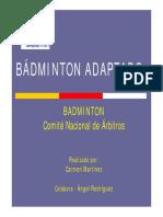 9 Badminton Adapt a Do