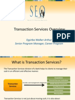 Transaction-Services Overview Presentation2011
