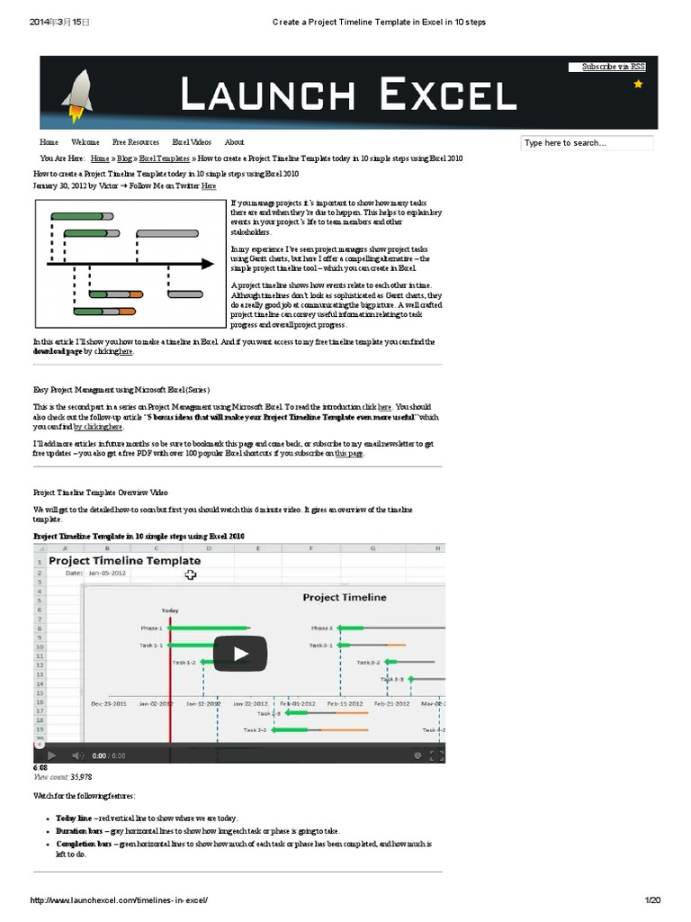 Create a project timeline template in excel in 10 steps create a project timeline template in excel in 10 steps microsoft excel visual basic for applications nvjuhfo Images