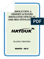 Absolucion Itp - Hayduk Agosto Propúesto y Presentado