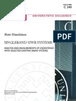 Singleband Uwb Systems