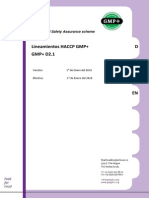 Tra Guidelines HACCP GMP+D2.1