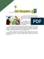 6 de JULIO - Día Del Maestro.