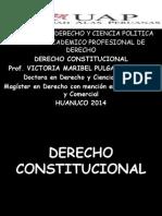 Derecho Constitucional Diapositiva Alas Peruanas 2o14