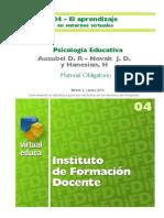04.IFD-U1.Ausubel Psicologia Educativa