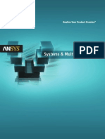 Systems and Multiphysics Solutions