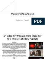 Music Video Analysis A2
