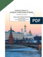 Economic Transformation of Russia