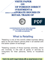 CAIT Whitepaper on FDI in Retail