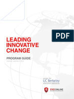 Leading Innovative Change - Program Guide