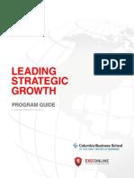 Leading Strategic Growth - Program Guide