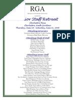 Senior Staff Fact Sheet