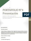 PORTAFOLIO 4. Presentacion por Mario Aguirre V.