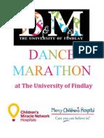 dance marathon proposal