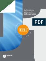 dichiarazione ambientale calcestruzzo